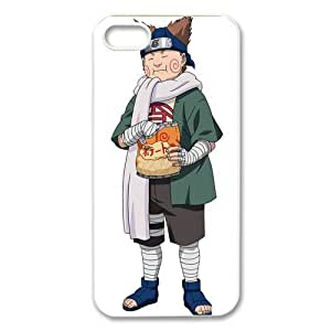 ePcase Fat Akimichi Choji in Naruto Printed White Hard Case Cover for iPhone 5
