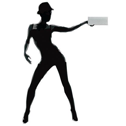 de CASPAR pour élégante Argenté femme TA343 Pochette Clutch soirée à paillettes qxBU4O1wfx
