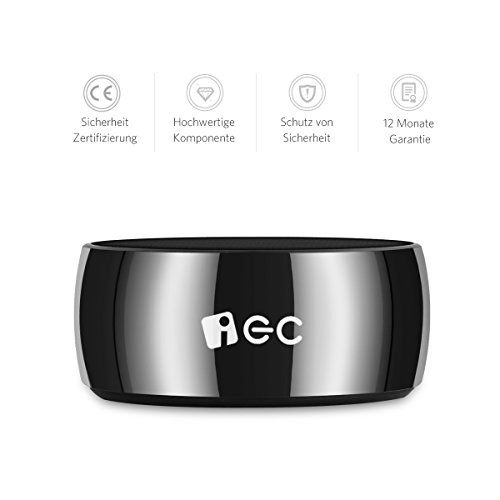 iEC Mini Stahl Bluetooth Lautsprecher Mobiler Tragbarer Bluetooth ...