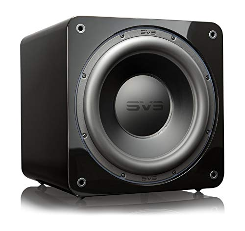 SVS SB-3000 Subwoofer - 13-inch Driver, 800W RMS, 2,500W Peak Power, DSP Control App - Piano Gloss Black