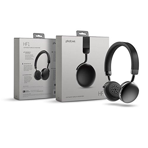 Photive HF1 On-Ear Wireless Bluetooth Headphones