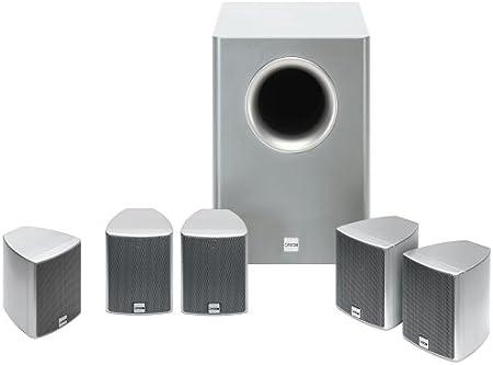 Canton Movie 10 Mx Speaker System Silver Mp3 Hifi