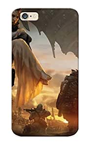 Case For Iphone 6 Tpu Phone Case Cover(saving The Princess During War) For Thanksgiving Day's Gift
