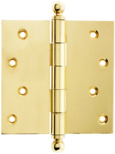 Solid Brass Hinge Ball Finial - 7