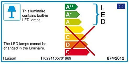 Lucande LED Außenleuchte \'Lorik\' (spritzwassergeschützt) (Modern) in Schwarz aus Aluminium (1 flammig, A+, inkl. Leuchtmittel) - Wegeleuchte, Pollerleuchte, Wegelampe, Sockelleuchte