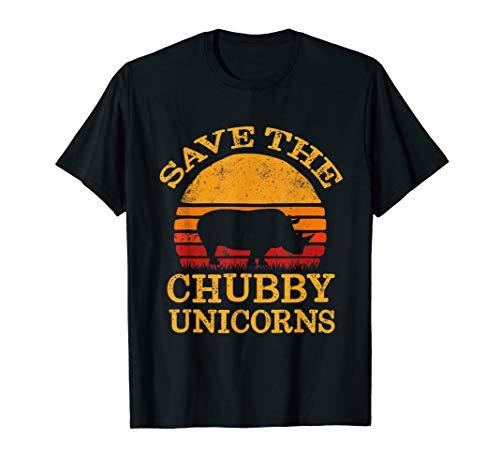 (Save The Chubby Unicorns Vintage T-Shirt)