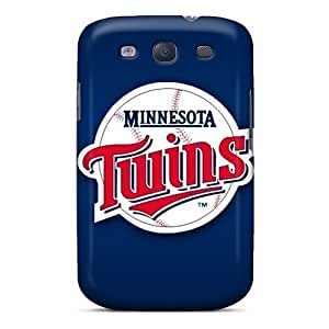 DannyLCHEUNG Samsung Galaxy S3 Protective Hard Phone Covers Provide Private Custom Trendy Minnesota Twins Image [Frb5208sHXF]