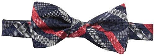 Tommy Hilfiger Men's Grenadine 4 Self-Tie Bow Tie, Navy, ...