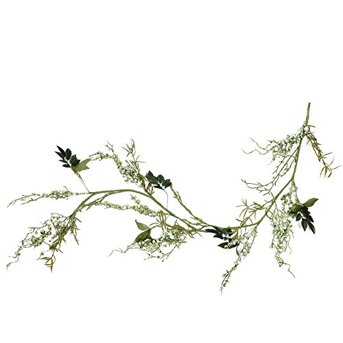 - Northlight 5' Green Mixed Berry and Spring Floral Artificial Garland