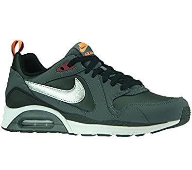 NIKE AIR Max Trax Herren Leather Sneaker Grau 652824 002