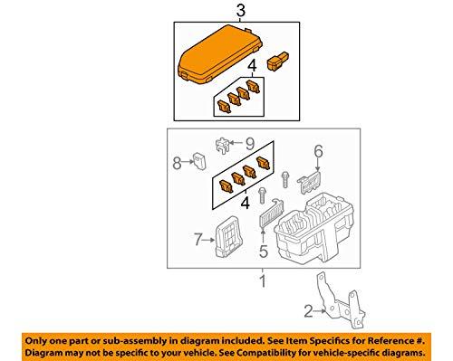 Genuine Honda 38256-T0A-A01 Relay Box (Upper) Cover: