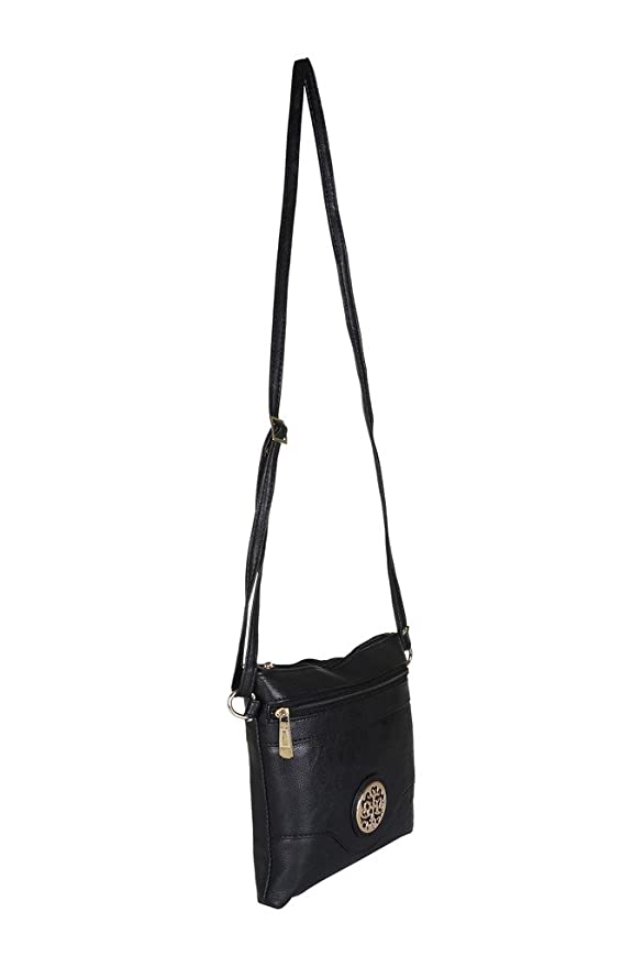 0f882dea7201 Buy Footshez New Arrival Best Hot Selling Leather Sling Bag Tote Bag Handbag  Small For Women   Girls (Black) Low Price Sale Online at Low Prices in  India ...