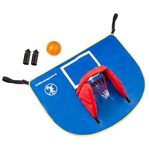 Ultrasport Trampolin Basketball-Set mit Backboard, Korb und Ball