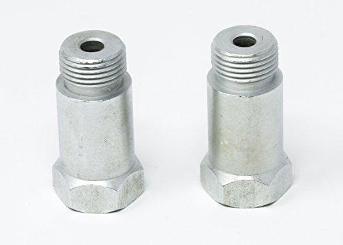 (EzMotive CEL Fix Check Engine Light Eliminator Adapter - Universal Sensor Bung- Iron - Pack of 2)