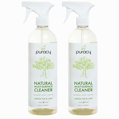 Puracy Natural All Purpose Cleaner, Streak-Free Household Multi-Surface Spray, 25 Ounce (2-Pack) ()