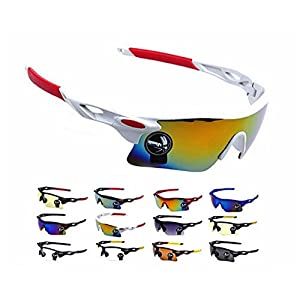 Gencorp JSC Outdoor Glasses - Men Women Cycling Glasses Outdoor Sport Mountain Bike MTB Bicycle Glasses Motorcycle Sunglasses Eyewear Oculos Ciclismo CG0501