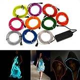 Led Strip Lights - Colors Flexible Neon Wire Light Dance Party Decor Light - Lucent Metallic Entice Lambent Silver Tempt Glowing Gold Enticement Bright Bimetal Bait Bimetallic Hook - 1PCs