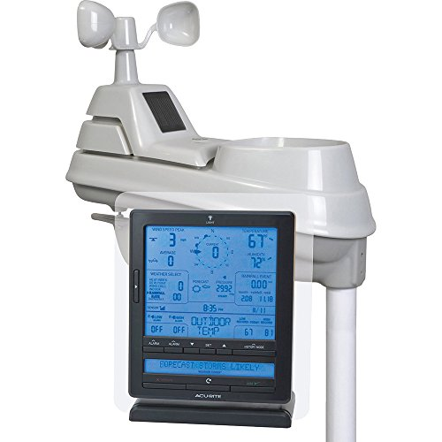 Acurite 01015 Wireless Weather Station with Wind and Rain...
