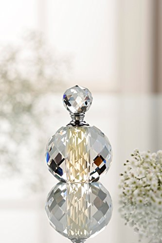 - Belleek Galway Crystal Savoy Perfume Bottle, 4-Inch, Clear