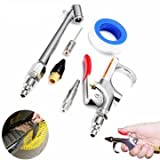 Aviation Blowpipe - 10pcs Car Compressor Air Duster Blow Gun Cleaning Tool Kit Gas Nozzle Needle - Flying Melodic Phrase Aura Aerial Blowtube Broadcast Tube Atmosphere