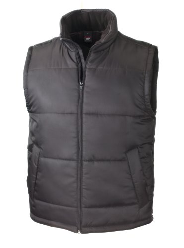 Black Core Bodywarmer Hombre Chaleco Result para BfqCW