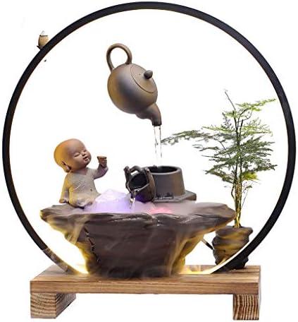 香炉香炉LED逆流香炉ホーム線香立てクリエイティブデコレーションギフトアロマオーナメント (Color : A)