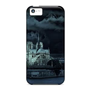 Special GunsRoses Skin Case Cover For Iphone 5c, Popular Notre Dame Phone Case