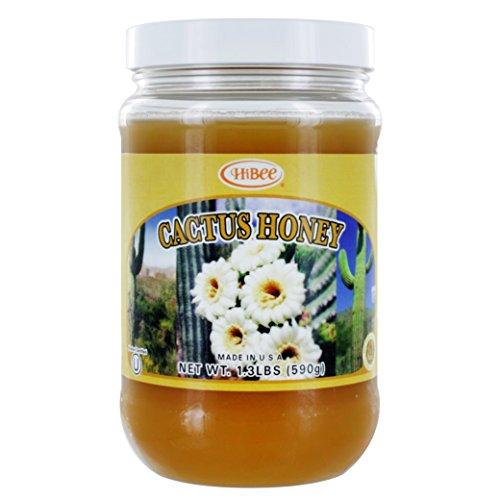 HIBEE Cactus Honey_Kosher Certified (1.3lbs)