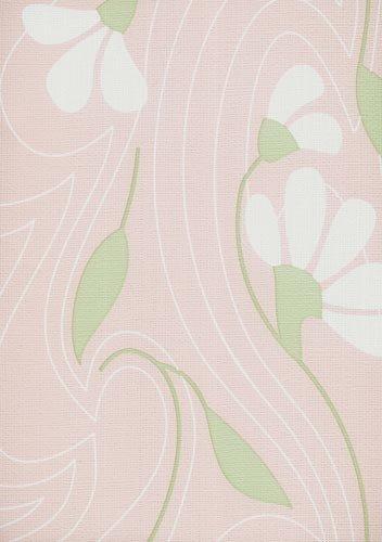 papel de parede bobinex classique flores rosa