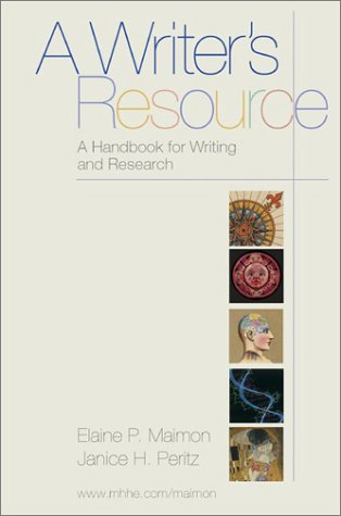 A Writer's Resource: A Handbook for Writers and Researchers