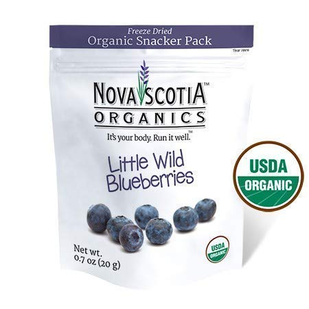 Handy Almond Shield - Organic Freeze Dried Wild Blueberries Family Snacker (3 x 46g); Certified Organic; Vegan