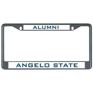 Amazon Com B Fighting Angelo State Metal License Plate