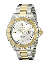 Invicta Men's Watch 15285 Pro Diver Gold Stainless Steel, White