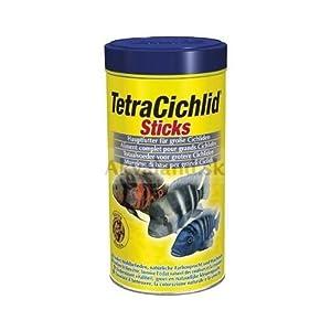 Tetra cichlid xl food sticks 160g pet supplies for Tetra cichlid sticks