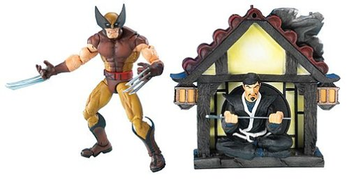 Marvel Legends Series 6 Action Figure Brown Costume Wolverine - Wolverine Brown Costume