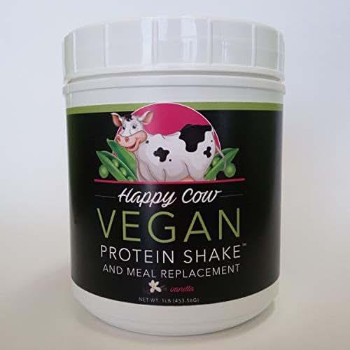 Happy Cow Vegan Protein Shake (Vanilla)