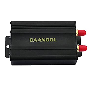 BAANOOL Car GPS Tracker for Vehicles GPS Tracking System Real Time Car Tracker by App Pc Version Web Online Tracking TK-103A from BAANOOL
