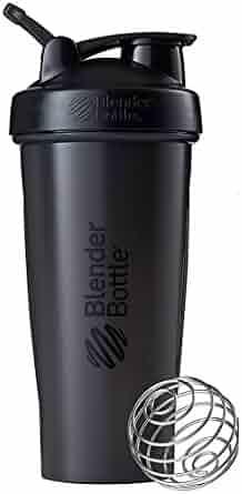 BlenderBottle Classic Loop Top Shaker Bottle 3-Pack, Blue/Grey/Black, 28-Ounce, Colors may vary