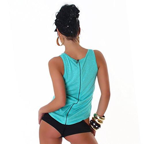 JELA London - Camiseta sin mangas - para mujer turquesa
