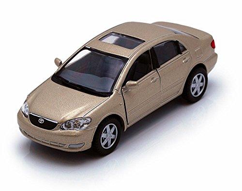 Toyota Corolla, Champagne - Kinsmart 5099D - 1/36 scale Diecast Model Toy (Toyota Model)