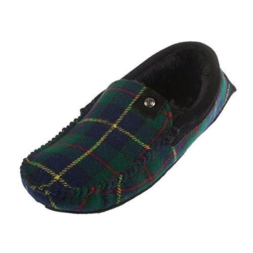 Bedroom Athletics - Zapatillas de estar por casa para hombre multicolor azul marino / verde 300x420mm