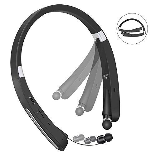 Bluetooth Headphones, Wireless Earphones Foldable Neckband S
