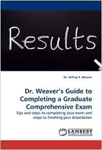 steps completing dissertation