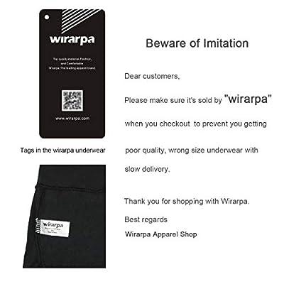 wirarpa Womens Anti Chafing Cotton Underwear Boy Shorts Bike Long Leg Multipack