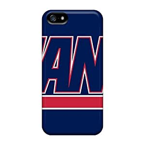 Bumper Hard Cell-phone Case For Iphone 5/5s (FKA16029cCLS) Allow Personal Design Attractive New York Giants Image