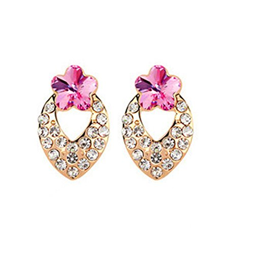 KaiSasi Ms Mei Heart Love Fashion Jewelry Earrings Temperament(C3)