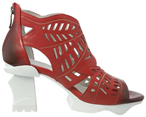 Laura Vita Armance 35, Women's Open-Toe Sandals Red (Rouge Rouge)