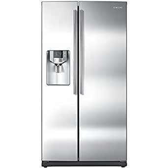 Samsung RS265TDRS 26.0 Cu. Ft. Stainless Steel Side-By-Side Refrigerator - Energy Star