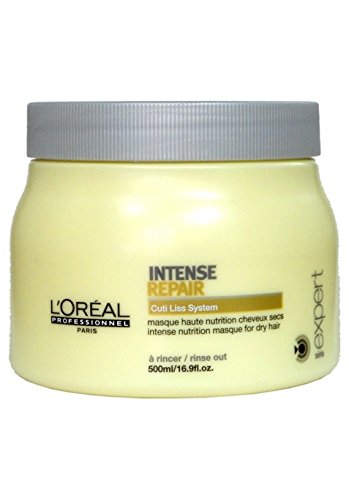 Force Vector Masque - L'oreal Intense Repair Masque for Unisex, 16.9 Ounce