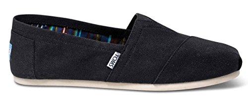 TOMS Men's Alpargata Canvas Black Ankle-High Flat Shoe - 11M by TOMS